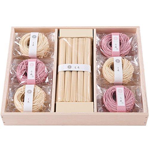 内祝い ギフト 贈り物 贈答品 ギフトセット okuru 紅白麺 三輪うどん hiu-50a/un 1100g