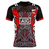 HQIUYI 18-19 Maori Training Rugby Jersey, Fan T-Shirt Rugby Sweatshirt