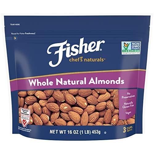 Whole Almonds, 16 oz, Naturally Gluten Free, No Preservatives, Non-GMO