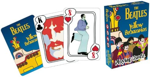 Beatles Yellow Submarine Playing Cards product image