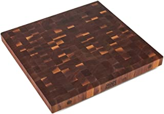 John Boos WALBBIT2-2425 End Grain Butcher Block Island Top, 24 x 25 x 2.25