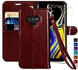 MONASAY Galaxy Note 9 Wallet Case, 6.4 inch [Included