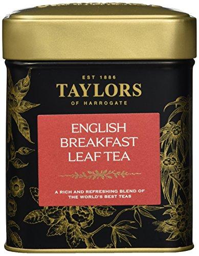Taylor\'s of Harrogate English Breakfast Leaf Tea 125 g, 1er Pack (1 x 125 g)