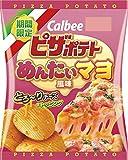 カルビー ピザポテトめんたいマヨ風味 60g ×12袋
