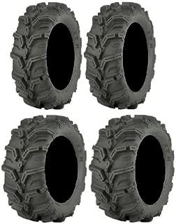 Full set of ITP Mud Lite XTR (6ply) 27x9-12 and 27x11-12 ATV Tires (2)