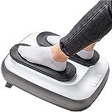 TTSDRD Entrenador de piernas Entrenador de Gimnasio pasivo   Mando a Distancia   Altura Regulable   Intensidad Ajustable   Fácil de Usar (Color : Silver)