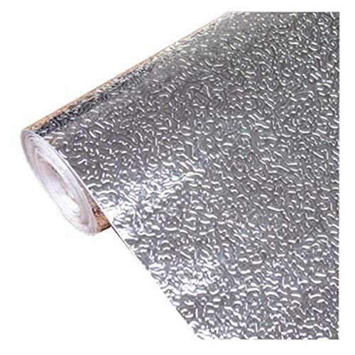 HeWan muursticker, keukenwand, aluminiumfolie, oliebestendige sticker, antifouling-behang