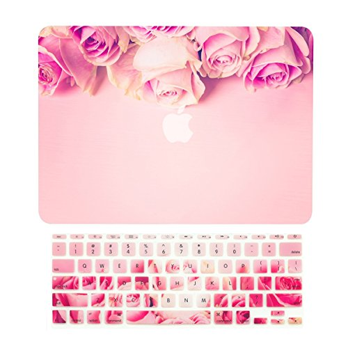 TOP CASE - 2 in 1 Signature Bundle Graphics Rubberized Hard Case + Keyboard Cover Compatible MacBook - http://coolthings.us