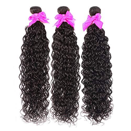 Water Wave 3 Bundles (16 18 20) Wet and Wavy Human Hair Bundles 100% Unprocessed Virgin Hair Ocean Weve Bundles Human Hair Extension