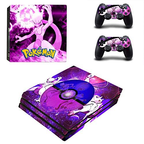 Pokémon Movie PS4 Pro Autocollant intégral en vinyle pour manette de Playstation 4