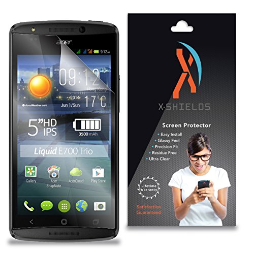 XShields© (4-Pack) Screen Protectors for Acer Liquid E700 (Ultra Clear)