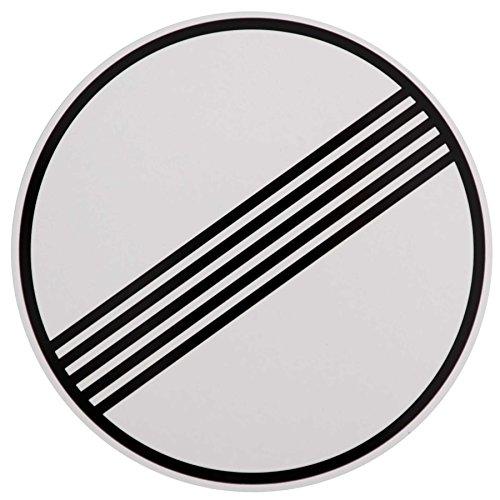 ORIGINAL Verkehrszeichen Nr. 282 ENDER SÄMTLICHER STRECKENVERBOTE 420 mm DN Verbotsschild Verkehrsschild RAL-Gütezeichen Schild Verkehrsschilder Schilder Warnschild Straßenschild Straßenzeichen Warnzeichen Straßenschilder Hinweisschild nach StVO