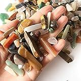 YANGB Piedra de Masaje 100g Natural Mixto Cuarzo Cristal de Piedra Roca Grava Espécimen Tanque Decoración Natural Piedras y Minerales (Color : 100g)