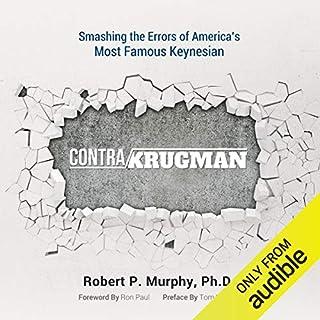 Contra Krugman audiobook cover art