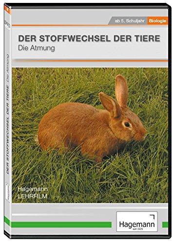 Stoffwechsel der Tiere - Die Atmung - DVD - Lehrfilm für Unterricht und Ausbildung - Hagemann 180224 - Einzel- und Schullizenz