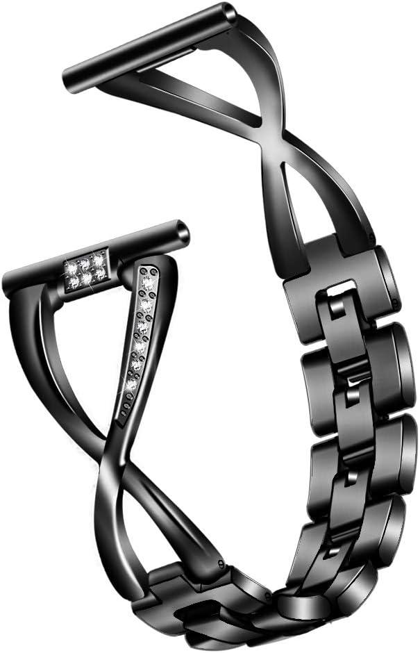 elecfan Galaxy Gear S3 Frontier Max 86% OFF Rhineston Bling Band 46mm Women Indefinitely