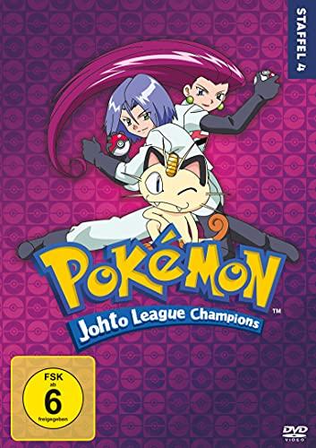 Pokémon - Staffel 4: Johto League Champions [7 DVDs]