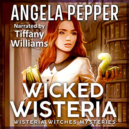 Wicked Wisteria  audiobook cover art
