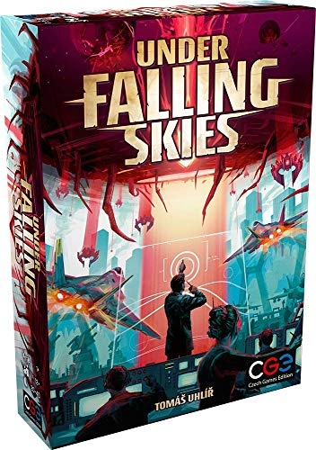 Czech Games Edition 058 - Under Falling Skies - English Edition