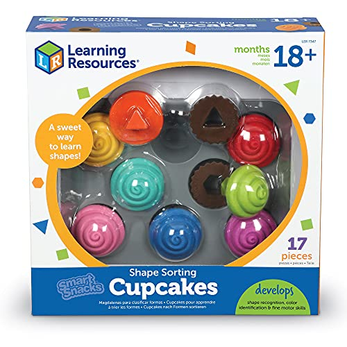 LEARNING RESOURCES Les cupcakes Smart Snacks école