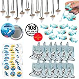 Shark Birthday Party Favors Shark Favors Pool Party Supplies Large Bundle Includes Favor Boxes for 12