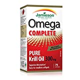 Jamieson Omega Complete Pure Krill 300 mg, 75 softgels
