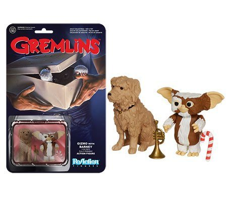 Gizmo and Barney Gremlins ReAction Figures Funko (2PACK) by ADVENTURER'S BAG