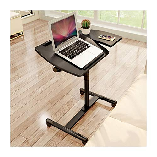 QWERTY Adatto per Computer Laptop Table Tavolino Portatile Tavolino per Laptop Multifunzionale E Pratico Ideale per Laptop O Tablet di Piccole Dimensioni Portatile Tavolo Laptop (Color : Black)