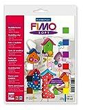 FIMO Pâte à modeler SOFT Basic-Set 9 demi blocs 25g + accessoires