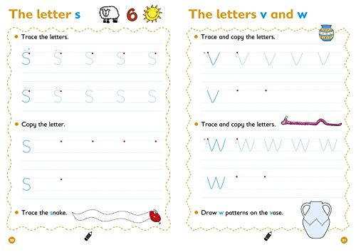Lower Case Letters Age 3-5 Wipe Clean Activity Book: Prepare for Preschool with easy home learning (Collins Easy Learning Preschool)