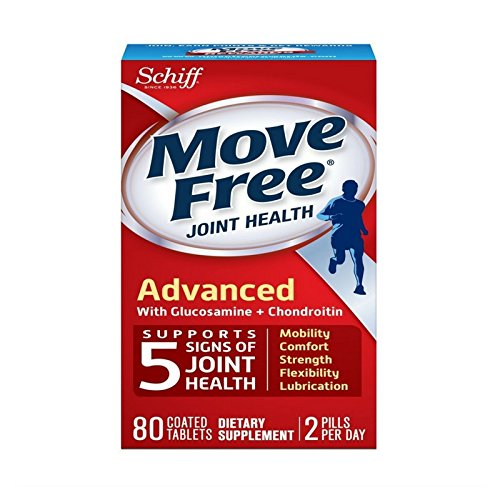 Move Free Advanced - 80 tablets - Joint Health Supplement with Glucosamine and Chondroitin