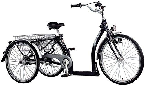 PFAU-TEC Dreirad Classic 26/24, dunkelblau, 3-Gang SRAM i-MOTION, Rahmenhöhe 45 cm