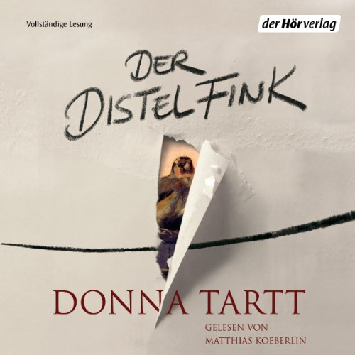 Der Distelfink audiobook cover art