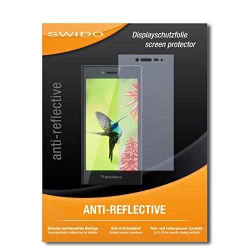 SWIDO Bildschirmschutz für BlackBerry Leap [4 Stück] Anti-Reflex MATT Entspiegelnd, Hoher Festigkeitgrad, Schutz vor Kratzer/Glasfolie, Schutzfolie, Bildschirmschutzfolie, Panzerglas Folie