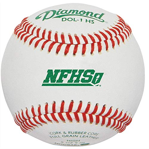 Rods Diamond Sports DOL-1 HS NFHS/NOCSAE High School Baseball - 1 Dozen
