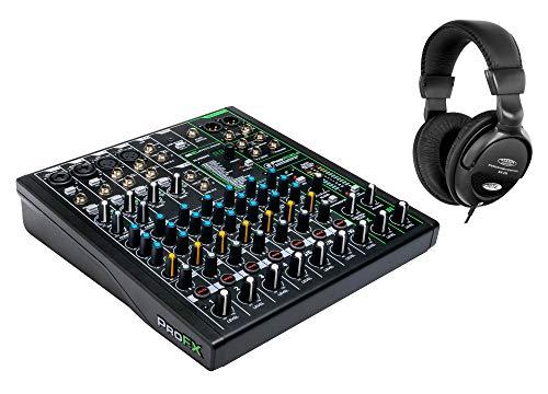 Mackie ProFX10v3 Mischpult Set (inkl. Studio-Kopfhörer)