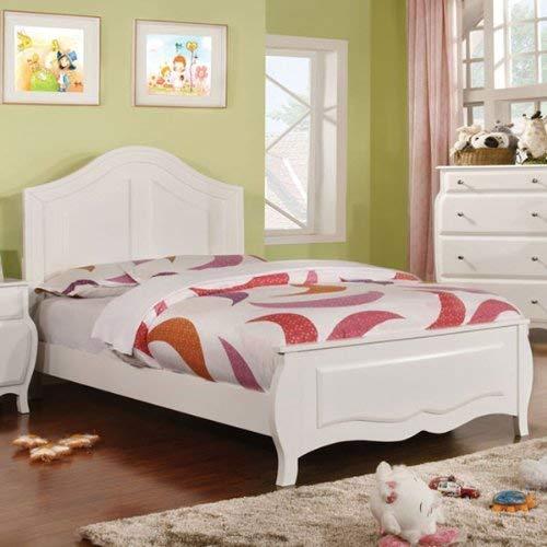 247SHOPATHOME childrens-bed-frames, Full, White