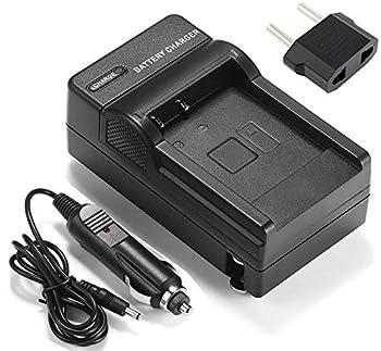Battery Charger for Panasonic HC-W580K HC-W580M HC-W580EB-K HC-W580EG-K Full HD Camcorder