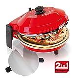 Spice Set Pack 2 Palette Acciaio inox + Forno Pizza Caliente 400 gradi resistenza circolar...