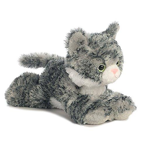 Aurora, 31713, Mini Flopsies Lily The Grey Tabby, 8In, Soft Toy