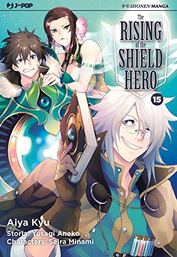 The rising of the shield hero: 15