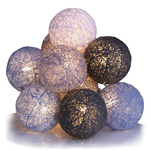 Qbis Cotton Ball Fairy Lights wi...