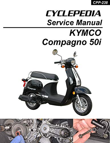 KYMCO Compagno 50i Scooter Online Service Manual (English Edition)