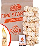Tumbleweeds fire Starter 60pc - Natural Fire...