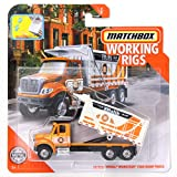 Matchbox Working Rigs International Workstar 7500 Dump Truck, Orange Malik