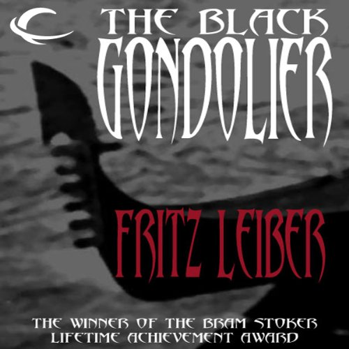 The Black Gondolier audiobook cover art
