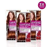L'Oréal Casting Crème Gloss 543 Golden Henna Brown Tinte p