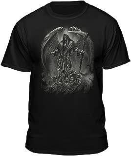 Soul Searcher Grim Reaper Angel Wings Men's T-Shirt