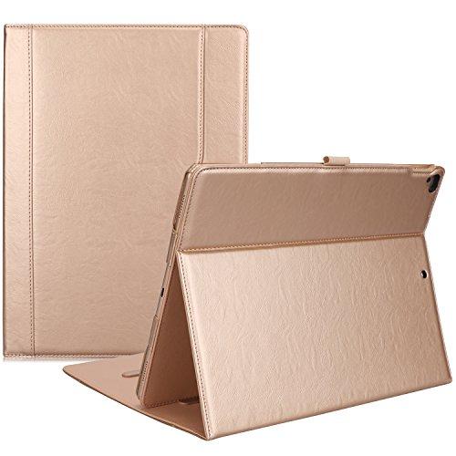 ProHülle Leder Stand Folio Hülle für 2017 iPad Pro 12.9 Zoll (A1670 A1671) & 2015 iPad Pro 12.9