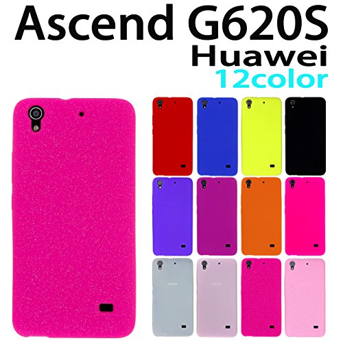 G620S ASCEND Huawei 用 オリジナル シリコンケース (全12色) ラメピンク [ Ascend アセンド G620S HUAWEI ケース カバー G620S G620S ]